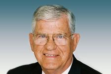 Headshot of former Gov. Dr. James G. Martin