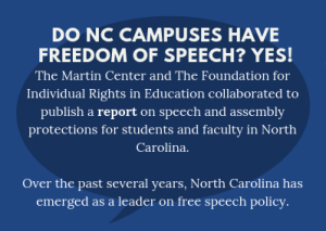 Do North Carolina Students Have Freedom of Speech?